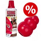 Juguete Kong + Kong Stuff´n Easy Treat ¡en oferta!