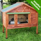 Kerbl Heat-insulating Small Pet Hutch 4-Seasons