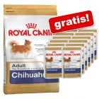 3 kg / 7,5 kg Royal Canin Breed + 12 x 85 g Pouches gratis!