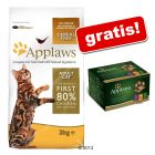 7,5 kg Applaws + 6 x 70 g Applaws Selection gratis!