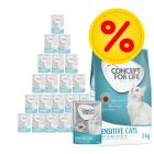 3kg Concept for Life Dry Food + 24 x 85g Wet Food in Gravy Bundle Pack