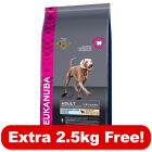12kg Eukanuba Large Breed Adult Lamb & Rice Dry Dog Food + 2.5kg Free!*