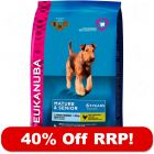 15kg Eukanuba Mature & Senior - 40% Off RRP!*