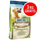 15 + 3 kg gratis Happy Dog NaturCroq