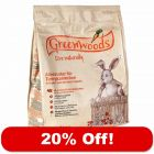 1kg Greenwoods Dwarf Rabbit Food - 20% Off!*
