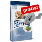 10 kg Happy Cat Supreme Junior + Baldi-Maus gratis!