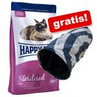 10 kg Happy Cat Supreme + Rascheltunnel gratis!