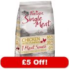 12kg Purizon Single Meat Dry Dog Food – £5 Off!*