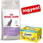 10 kg Royal Canin +  Dreamies Selection Box ingyen!