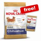 7.5/9kg Royal Canin Breed Dry Food + 6 x 85g Pouches Free!*