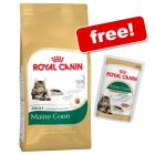 10kg Royal Canin Feline Breed Dry + 12 x 85g Pouches Free!*