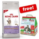 10kg Royal Canin Feline + 10l Cat's Best Litter Free!*