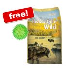 13kg Taste of the Wild Dry Dog Food + Large Spiky Ball Dog Toy Free!*