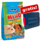 5 kg Vitakraft Menü Vital Porcellini d'India + Box gratis!