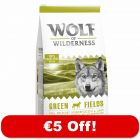 12kg Wolf of Wilderness Dry Dog Food- €5 Off!*