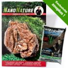 Kit de pierres samouraï pour aquarium NanoNature