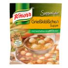 Knorr Suppenliebe Grießklößchen Suppe