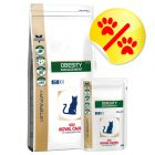 Kombipack: Royal Canin Veterinary Diet - Obesity Management