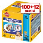 100 + 12 ks zdarma! 112 ks Pedigree Denta Stix