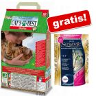 40 l Cat's Best  Eco Plus + 2 kg Sanabelle con Pollo gratis!