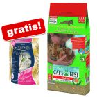 40 l Cat's Best Öko Plus + 2 kg Sanabelle Adult zdarma!