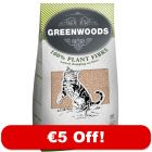 30l Greenwoods Natural Clumping Cat Litter - €5 Off!*