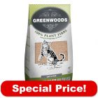38l Greenwoods Natural Clumping Cat Litter - Special Price!*