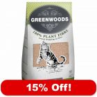 30l Greenwoods Natural Clumping Litter - 15% Off!*