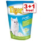 15l Tigerino Crystals Silicate Cat Litter + 5l Free!*