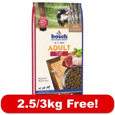 large bags bosch dry dog food free free p p. Black Bedroom Furniture Sets. Home Design Ideas