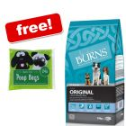 Large Bags Burns Dry Dog Food + 24 Quick Pick Poop Bags Free!*