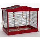Lena Bird Cage - Red