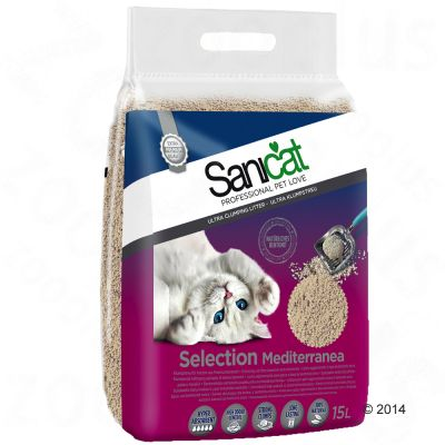 Lettiera Sanicat Selection Mediterranea