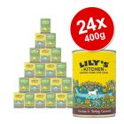 Lily's Kitchen Dinner Mixed Saver Pack 24 x 400g