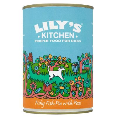 Lily's Kitchen Fishy Fish Pie with Peas for Dogs