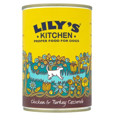 Lily's Kitchen Homestyle Chicken & Turkey Casserole for Dogs