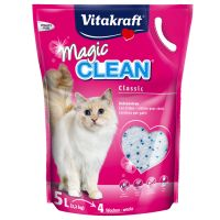 vitakraft magic clean liti re de silice pour chat zooplus. Black Bedroom Furniture Sets. Home Design Ideas