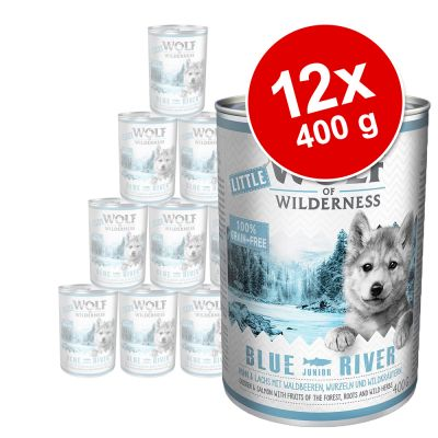Little Wolf of Wilderness Junior 12 x 400 g