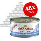 Lot Almo Nature Classic & Legend 48 x 70 g pour chat