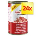 Lot Almo Nature Classic 24 x 140 g