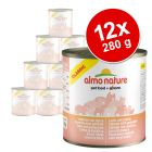 Lot Almo Nature Classic 12 x 280 g pour chat