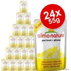 Lot Almo Nature Classic 24 x 55 g pour chat
