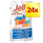 Lot Almo Nature Jelly 24 x 70 g