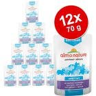 Lot Almo Nature Sterilised 12 x 70 g pour chat