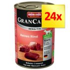 Lot Animonda GranCarno Sensitive 24 x 400 g
