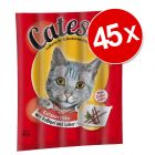 Lot de 45 bâtonnets pour chat à mâcher Catessy