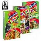 Lot de crackers pour lapin nain Vitakraft