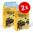 Lot de croquettes Taste of the Wild 2 x 13,6 kg pour chien