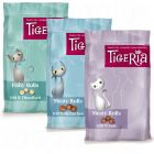 Lot de friandises pour chat Tigeria Meaty et Fishy Rolls