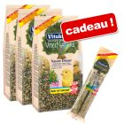 Lot de nourriture Vitakraft Nature Dinner + crackers offerts